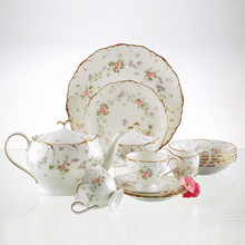 REMEMBRANCE - 24PC BONE CHINA TEA SET