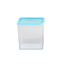 615ML MEDIUM CONTAINER WITH BLUE LID