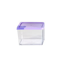 370ML SMALL CONTAINER WITH VIOLET TAP LID