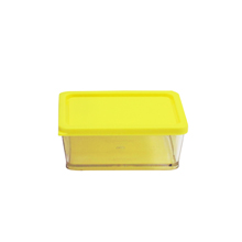 200ML MINI CONTAINER WITH YELLOW LID