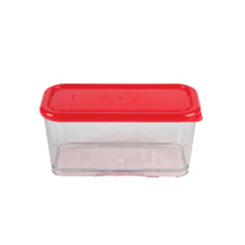 450ML 1C CONTAINER WITH RED LID
