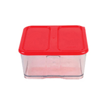 1000ML 2C CONTAINER WITH RED LID