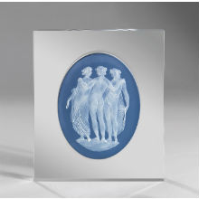 THREE GRACES PLAQUE 28X 36CM