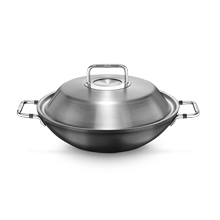 LUNO WOK 31CM (NON-STICK COATED)