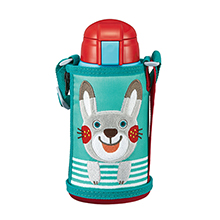 640ML CHILDREN VACUUM INSULATED BOTTLE - RABBIT