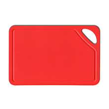 CUTTING BOARD RED, 260 X 170 X 20 MM