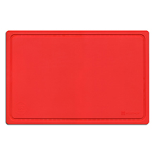 CUTTING BOARD RED, 380 X 250 X 40 MM